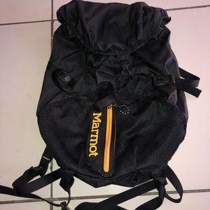Black MARMOT (kompressor plus) backpack